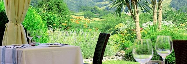 panoramique terrasse basse avec vue